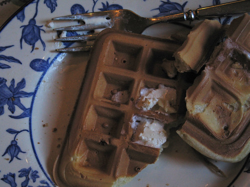 New Year Waffles