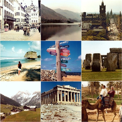 Nine places to travel