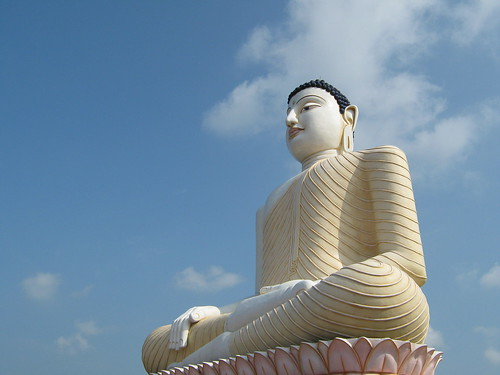Buddha Statue in Kande Viharaya- South Western, Sri Lanka