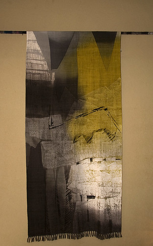Mr. Saito. textile artist yellow and black (40)