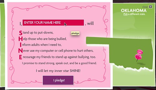 Enter your name to take the anti-bullying pledge