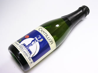 Gueuze 100% Lambic Cantillon bottle