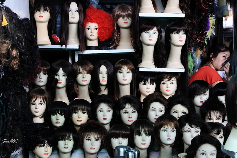 Chiang Rai - Market Series - Heads