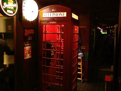 Telephone booth at The Coat Of Arms