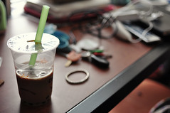 Boba tea (Michelle Edmonds Photography) Tags: austin bubbletea texas drink bobatea