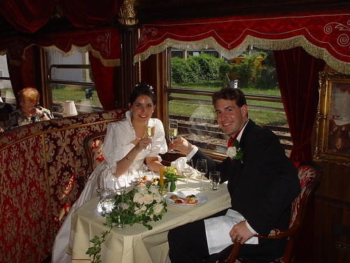 The Imperial Train, wedding in Excelsior wedding