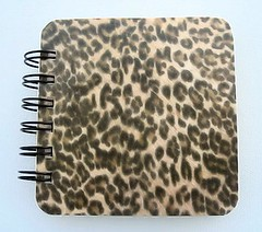 Leopoard Animal Print Post It Holder
