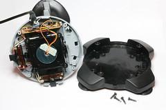 Joystick opened up (anachrocomputer) Tags: make analog conversion joystick dragon32 makezine homecomputer 6809