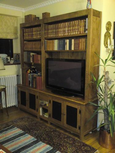 Solid Oak bookcase by Tony Sinnett