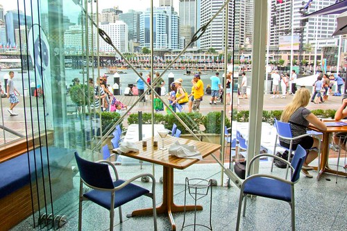 Jordans Seafood Restaurant, Darling Harbour,  Sydney NSW Australia by you.
