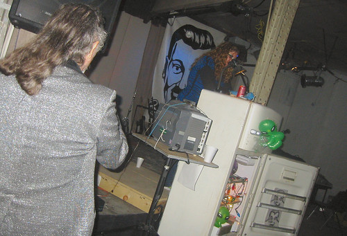 20081115 - SubGenius Devival in Baltimore - 171-7156 - Stang's shiny jacket - please click through to leave a comment on FlickR