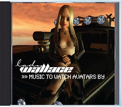 """Lady Wallace - """"Music to watch avatars by"""" CD"""