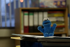 Cookie!!! (Mortarman101) Tags: office cookiemonster mywinners abigfave anawesomeshot