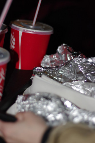 Day 9 - Cinema Hotdogs and a Giant Coke