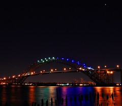 Venus Over The Bayonne Bridge by NJScott ***ON THE ROAD***
