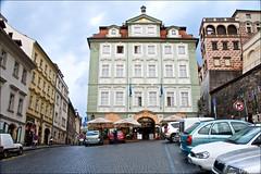 Let's go down.. (Vikaz) Tags: road castle up europe prague g down czechrepublic charlesbridge malastrana