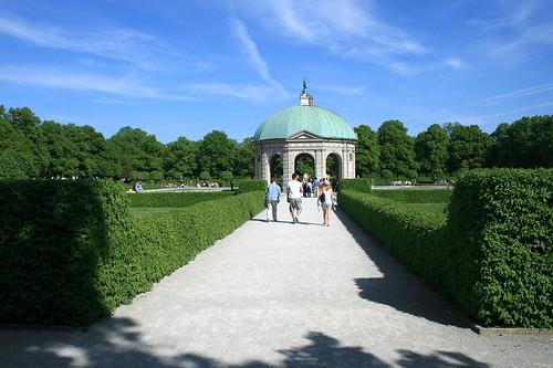 Dianatempel - Münchner Hofgarten
