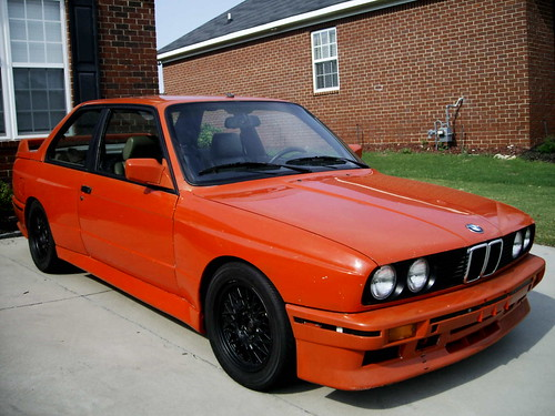 1988 Bmw E30 M3 For Sale Race Car Project Henna Red Front A Photo