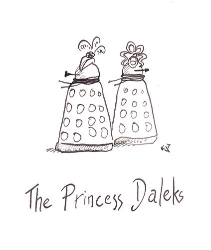 Далеки в фильмах: Принцесса Далеков
