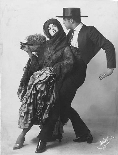 Spanish Dancers Martha Graham and Ted Shawn