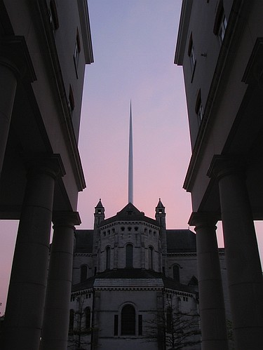 St Anne's Cathedral Pink Sky