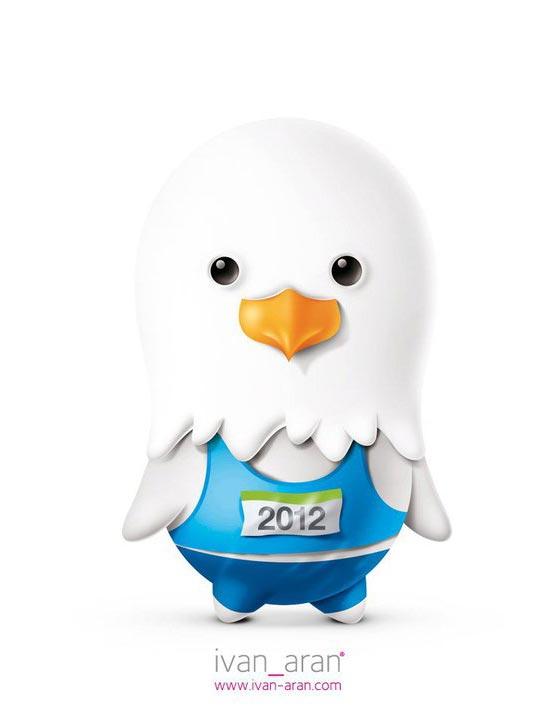 mascota Londres 2012