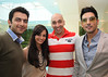 Tommy Sandhu with Sahil Sangha  Dia Mirza and Zayed Khan