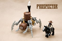 Prospector (ted @ndes) Tags: anime lego mecha steampunk thinktank tachikoma techwest marchikoma