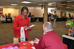 Teen Job Fair 2014 (Omaha Public Library) Tags: employment teens jobfair mutualofomaha omahapubliclibrary vision:text=0604 teenjobfair