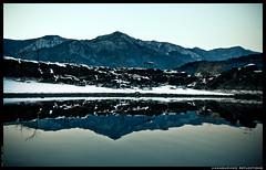Kawaguchiko Reflections (OUR WORLD/EXPOSED) Tags: trees lake snow mountains water japan reflections lava nikon san rocks fuji tables nikkor mtfuji kawaguchiko fujiyama d80 theunforgettablepictures betterthangood