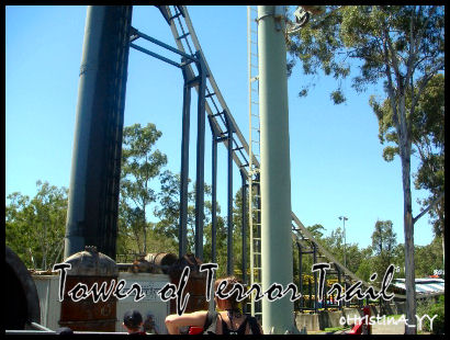 Big 6 Thrill Rides: Tower of Terror Trail