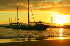 Boat Harbour Sunrise 6 (Christof In Oz) Tags: morning west water clouds sunrise canon boats harbour oz australia bunbury christof