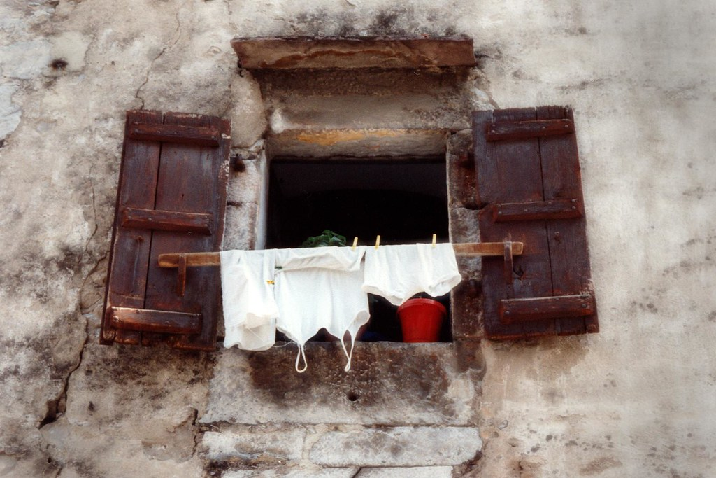 France - Basque Country - Laundry day