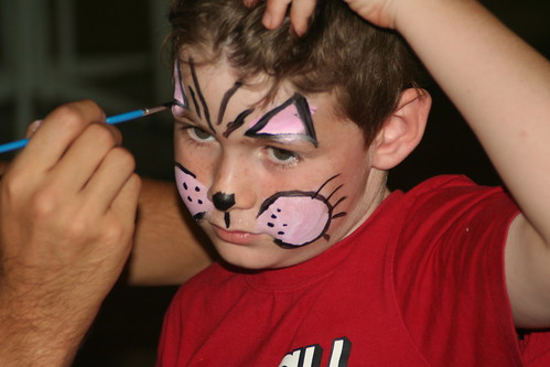 Hughie Face Painting