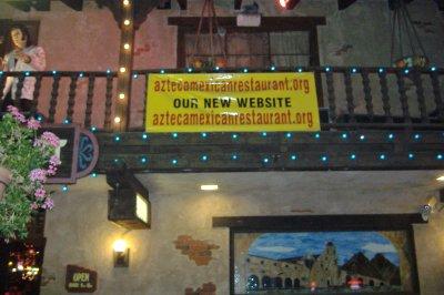 Azteca URL Banner