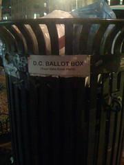 DC Ballot Box