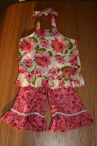Outfit for Kora's First Birthday