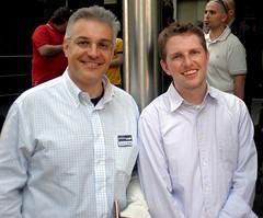 Io e Matt Mullenweg