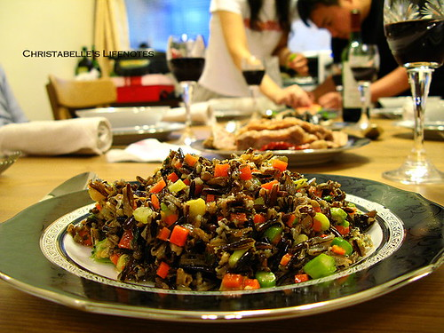 母親節大餐之牛肝菌野米沙拉