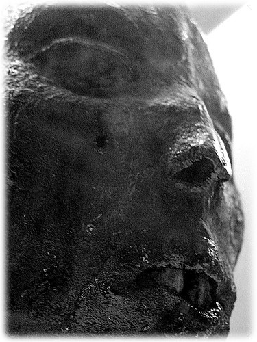 mummified head