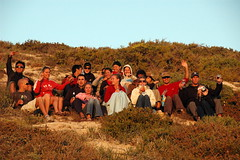 Group pic on the hill (by Louis Rossouw)
