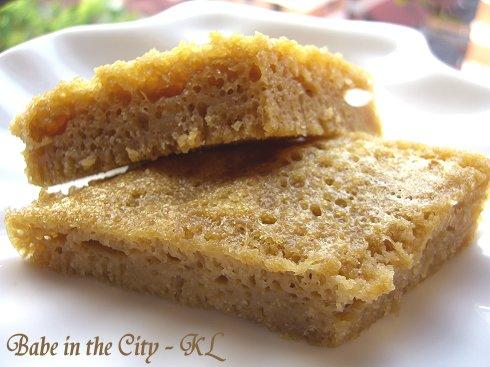 Gula Melaka Sponge