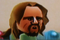 The Big Lebowski bowling on Wii