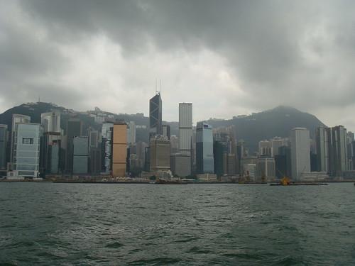 Daytime Hong Kong Skyline