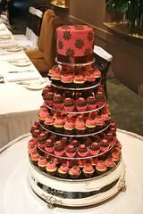 2557758528 235f059a01 m Baú de ideias: Decoração de casamento marrom (chocolate) e outras cores