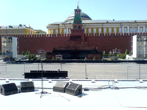 Stage On the Red Square