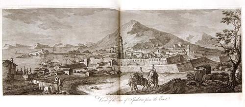 01-Vista de la ciudad de Spalatro desde el este