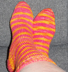 Flat Feet Sock Completed