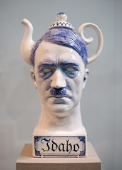 Hitler Idaho (Josh Thompson) Tags: art freeassociation deyoungmuseum d50 hitler sigma30mmf14dc idaho teapot lightroom charleskrafft invw