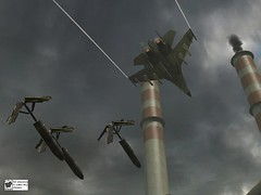 Bomb Run (snobbstech777) Tags: 2 two game field plane jet battle bombs ware bf2